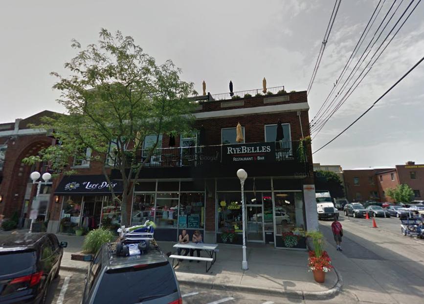 Ryebelles Restaurant In Saint Joseph Has The Best Rooftop
