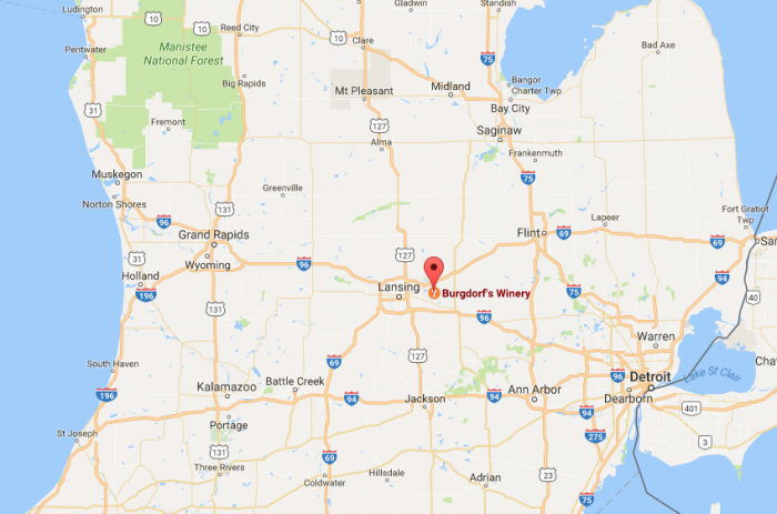 Burgdorfs Winery Is The Perfect Spot For A Day Trip In Michigan - Michigan wineries map