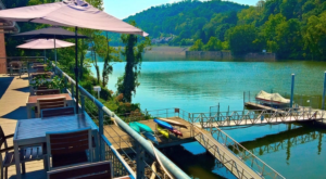 You'll Never Want To Leave This Enchanting Waterfront Restaurant In West Virginia