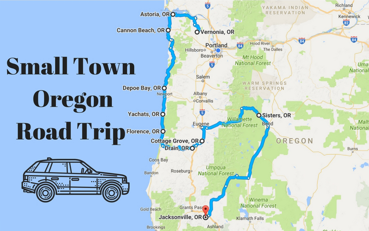 Take This Road Trip Through Oregons Most Picturesque Small Towns