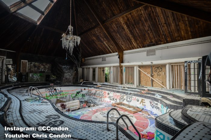 We found staggering photos of this abandoned tennessee mansion - Playboy swimming pool ...