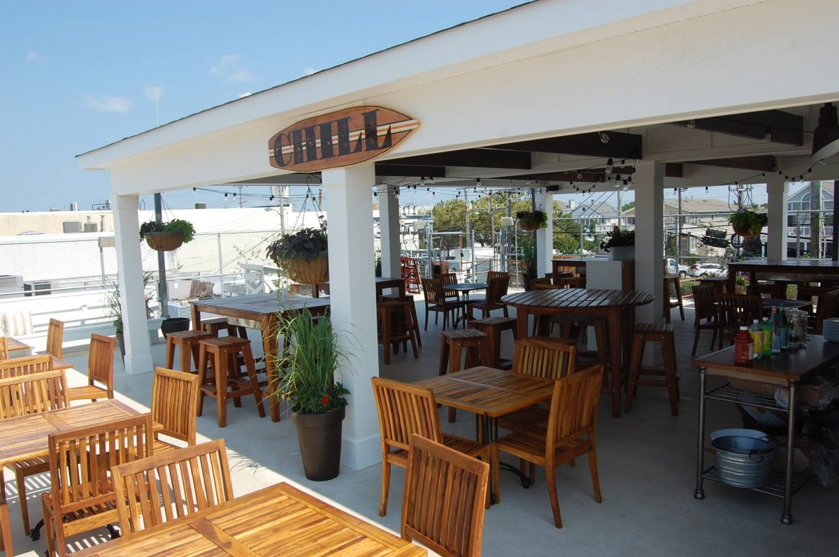 Dine At The Chill Rooftop Grill In Stone Harbor New Jersey