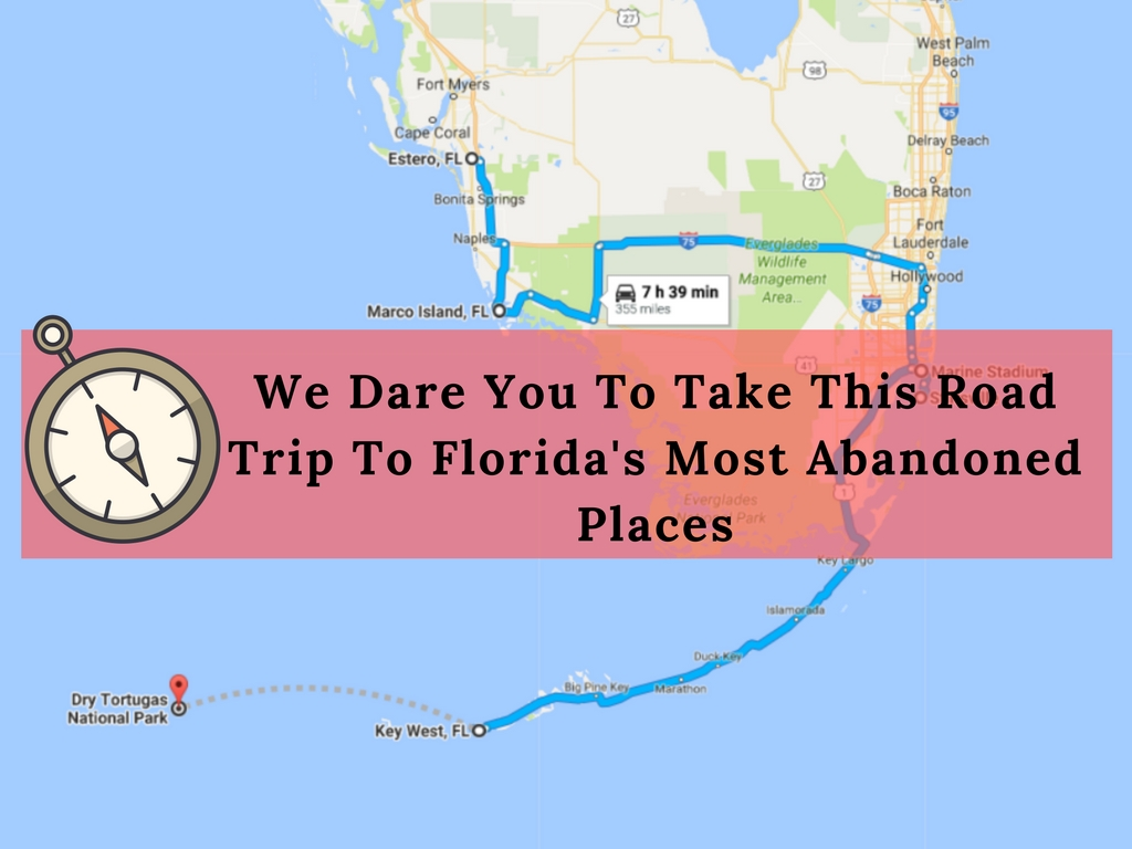 We dare you to take this road trip to florida 39 s most for Best places to take a vacation