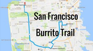 There's Nothing Better Than This Mouthwatering Burrito Trail In San Francisco