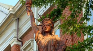 Most People Don't Know There's A Little Statue of Liberty in Indiana