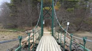 There's No Other Bridge In America Quite Like This One In Maine