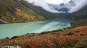 The Sapphire Lake In Alaska That's Devastatingly Gorgeous