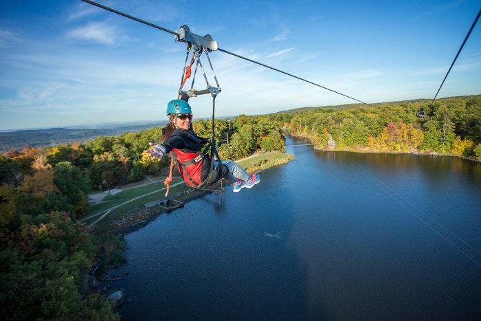 Enjoy Year-Round Zipline Tours At Mountain Creek In New Jersey