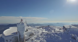 A Drone Flew Over Mount Washington In New Hampshire And Captured Mesmerizing Footage