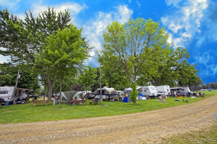 Most Beautiful Campground In All Of Michigan Waffle Farm