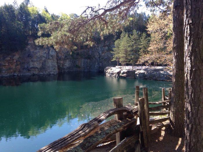 You Can Swim In The Granite Quarry Pool At Carrigan Farms