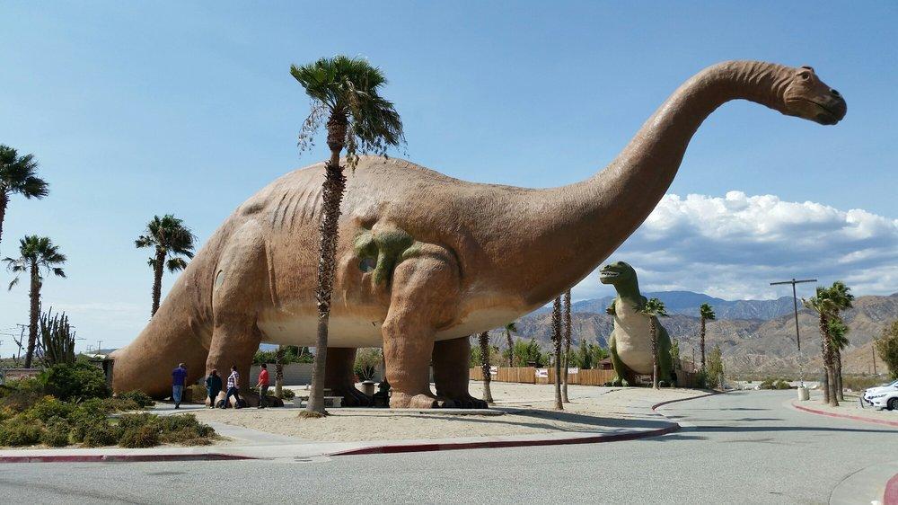Cabazon Dinosaurs A Unique Roadside Attraction In