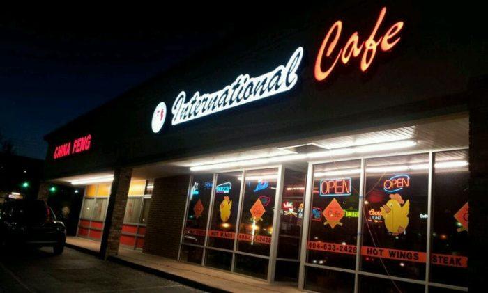 International Cafe Buford Hwy Menu