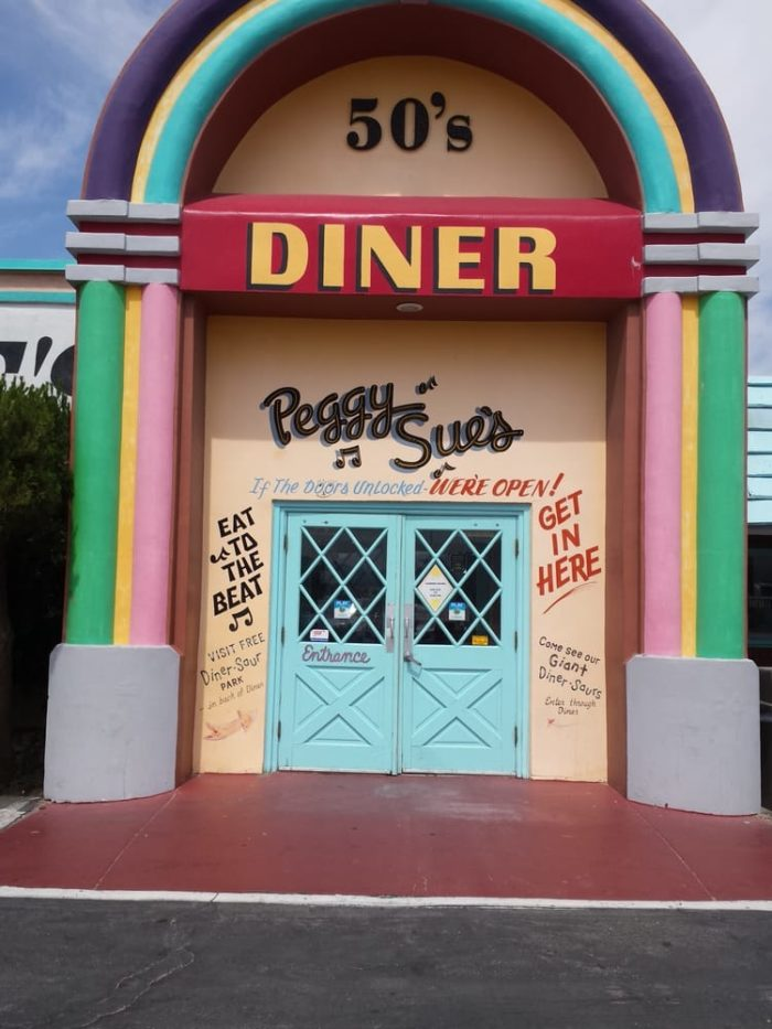 From the moment you approach this diner the lively front door will put a smile on your face. & The Quirky Roadside Diner In Southern California That Should Be On ...