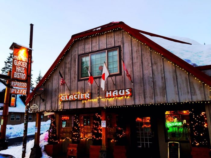 Located Near The Summit Of Mt Hood Glacier Haus Is A Little Known Restaurant Tucked Away In Town Government Camp