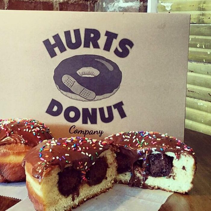 Hurts Donuts Company The Mouthwatering Donut Shop In