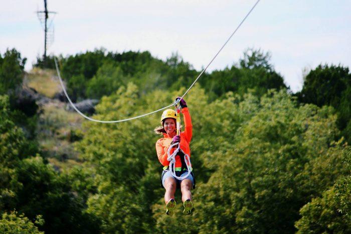 Air Donkey Zipline Is A Must Try Adventure In Oklahoma