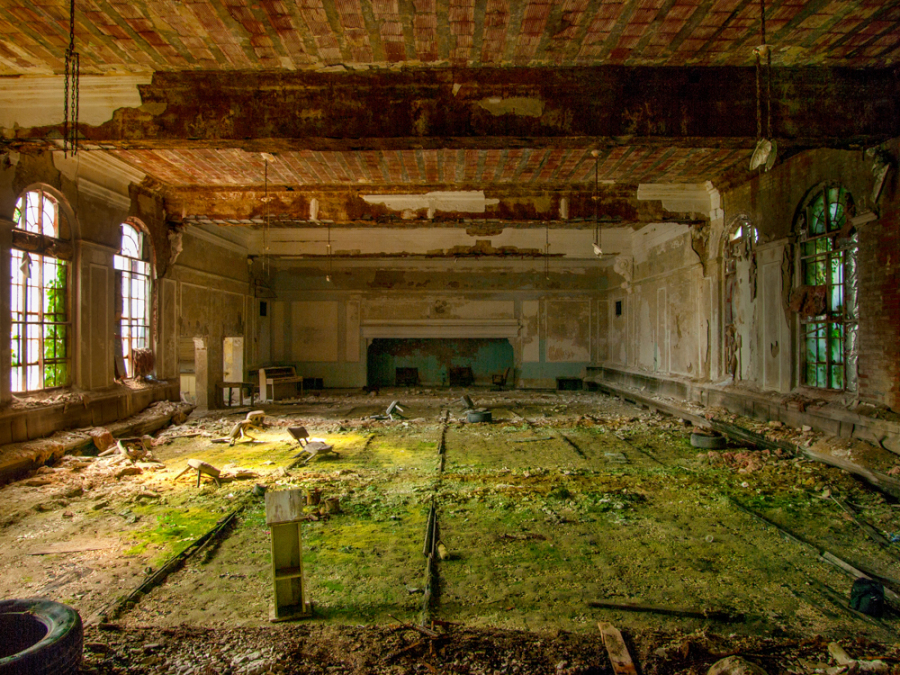This Abandoned Masonic Temple Is Being Reclaimed By Mother