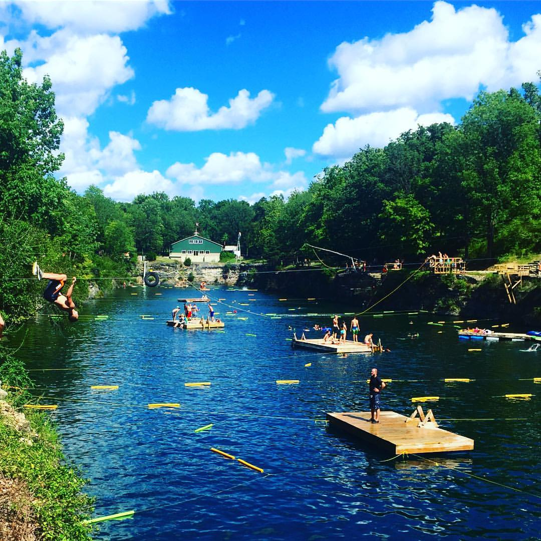 This is the most breathtaking natural pool in indiana - Washington park swimming pool milwaukee ...