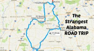 The Strangest Alabama Road Trip You'll Ever Take