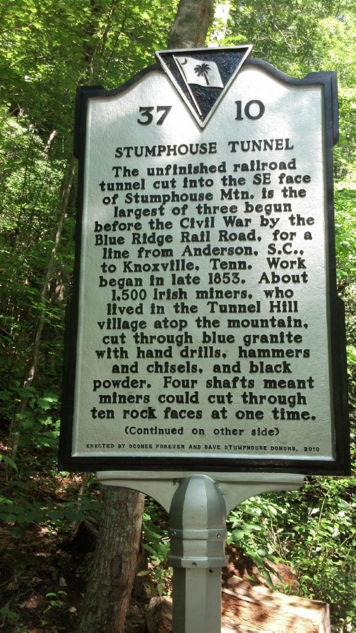 Stumphouse Tunnel In South Carolina Is Haunted By The