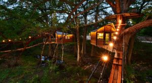 Sleep Underneath The Forest Canopy At This Epic Treehouse In Texas