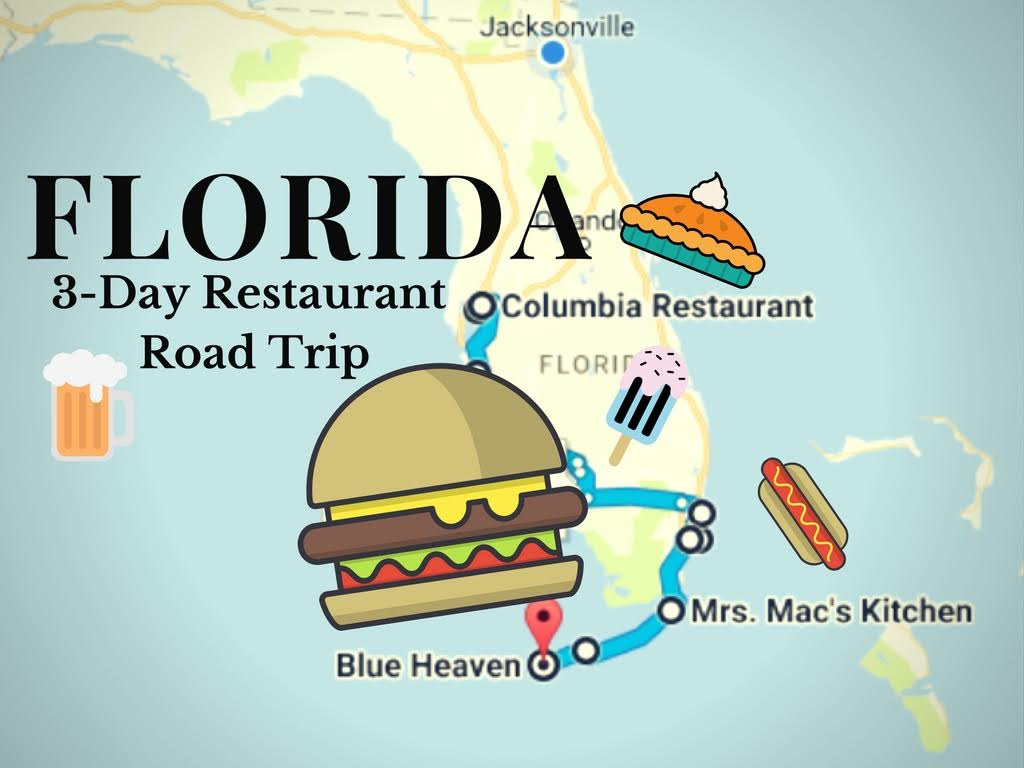 This Epic 3-Day Restaurant Road Trip In Florida Will Make Your Mouth ...