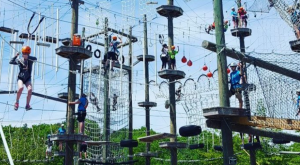 There's An Adventure Park Hiding In The Middle Of A Maine Forest And You Need To Visit