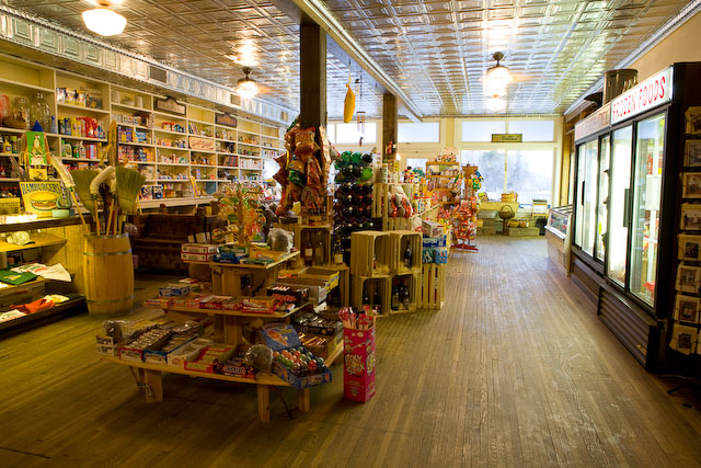 The Paint Bank General Store Is An Authentic Old General ...