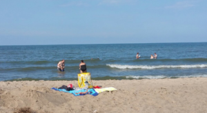 The Little Known Beach Near Cleveland That'll Make Your Summer Unforgettable