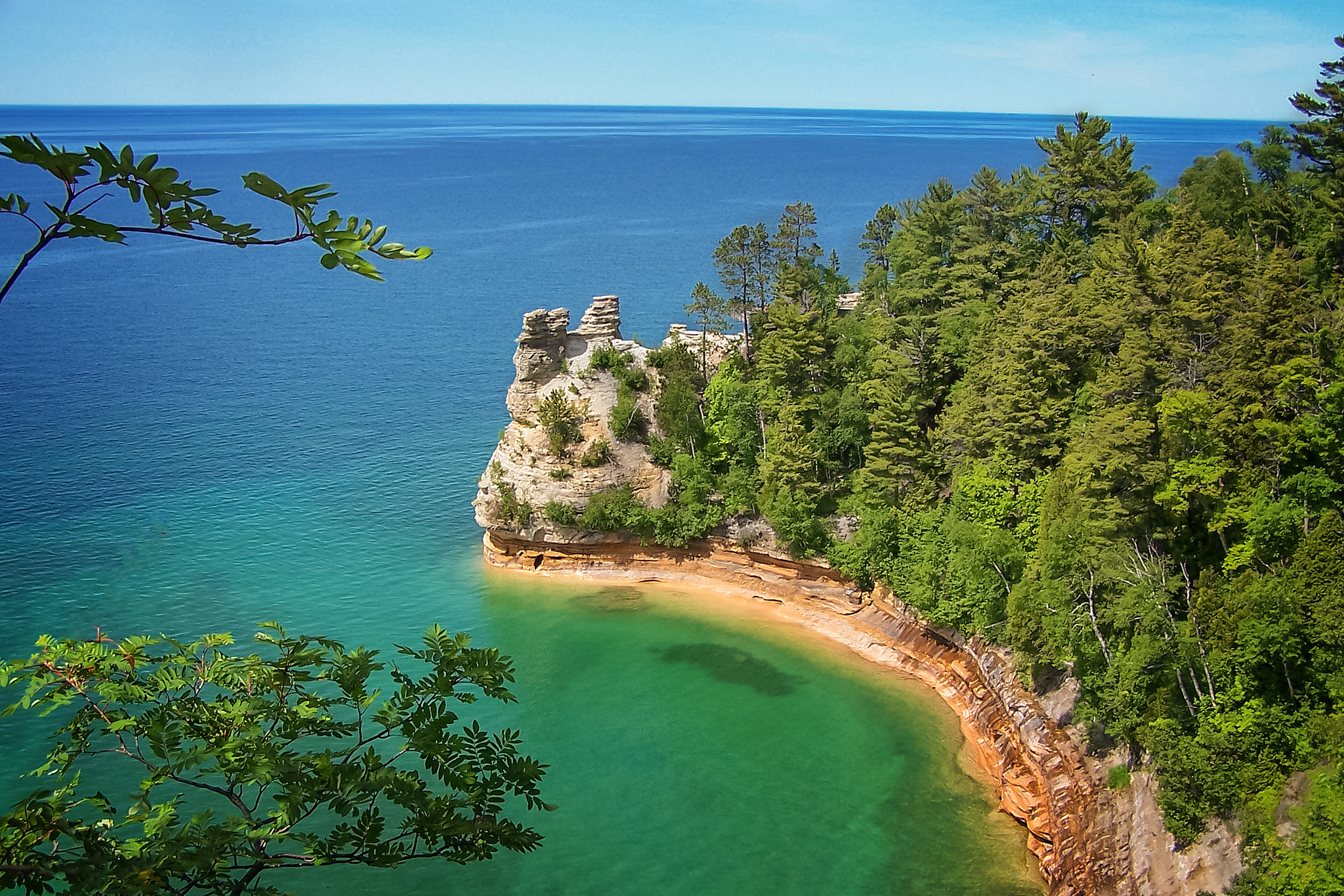 17 simply incredible photos of michigan 39 s great lakes for Picture great