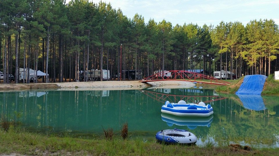 This Mississippi Swimming Hole Has Some Of The Bluest