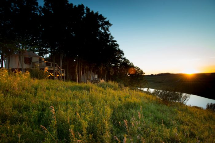 The Best Glampground In Ohio Nomad Ridge At The Wilds