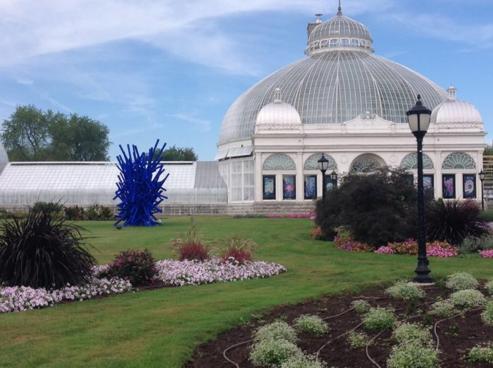 The Buffalo And Erie County Botanical Gardens Are Located At 2655 South  Park Avenue.