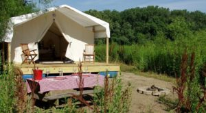 The Secluded Glampground In Missouri That Will Take You A Million Miles Away From It All