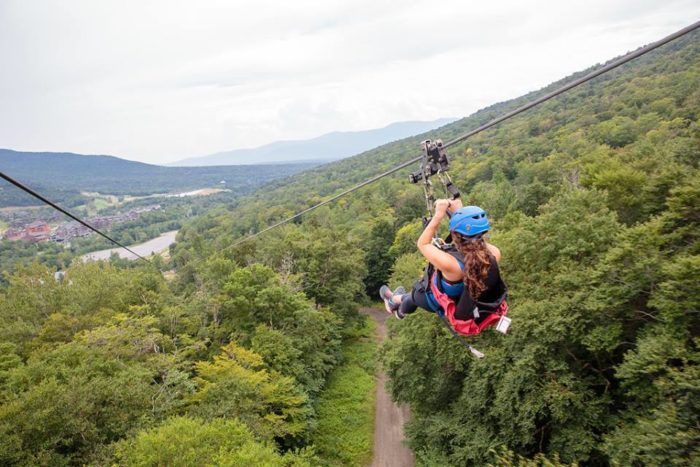 The Epic Zipline In Vermont That Will Take You On An
