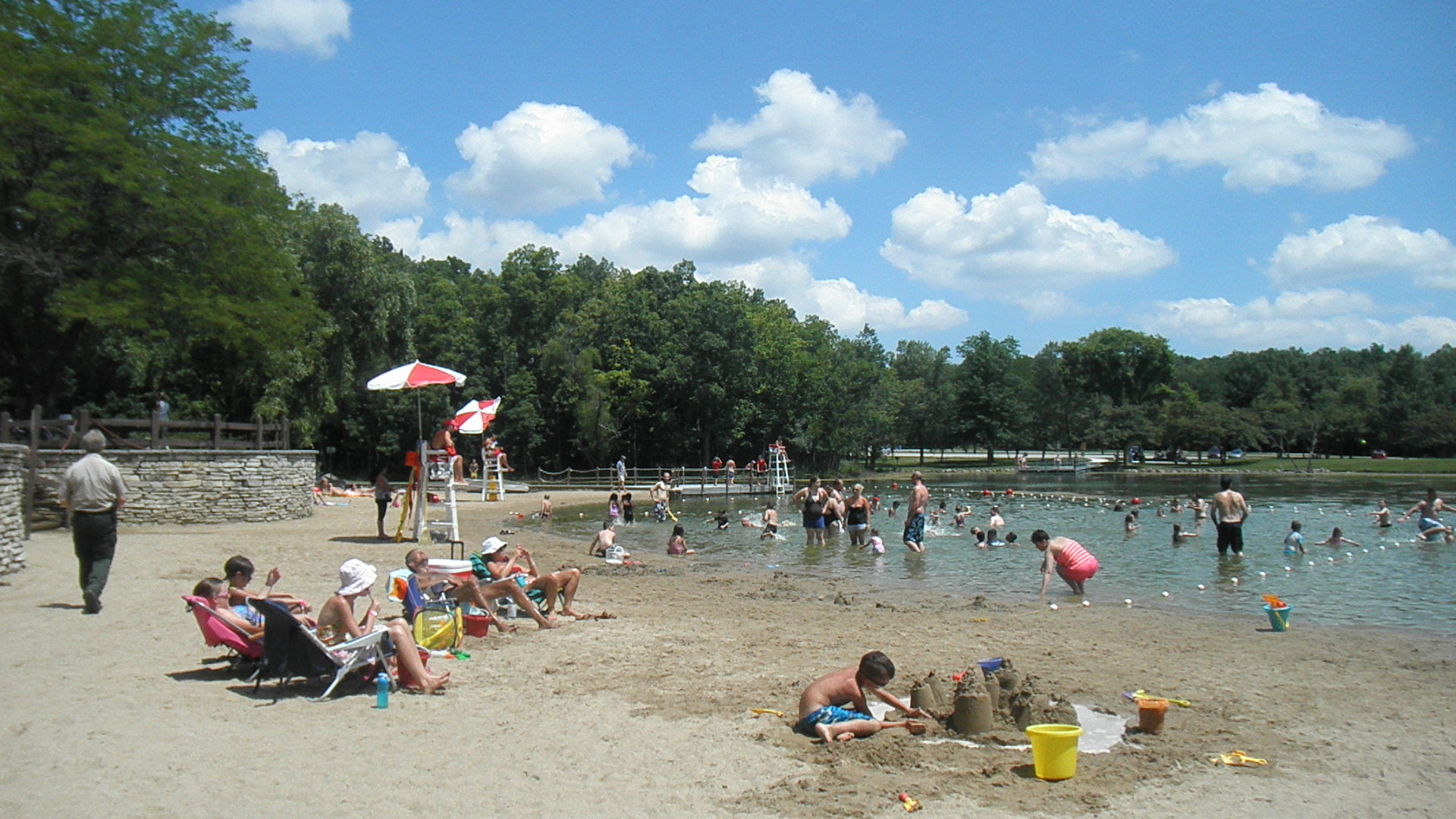 Mukwonago pond is a gorgeous clear spring fed lake in - Washington park swimming pool milwaukee ...