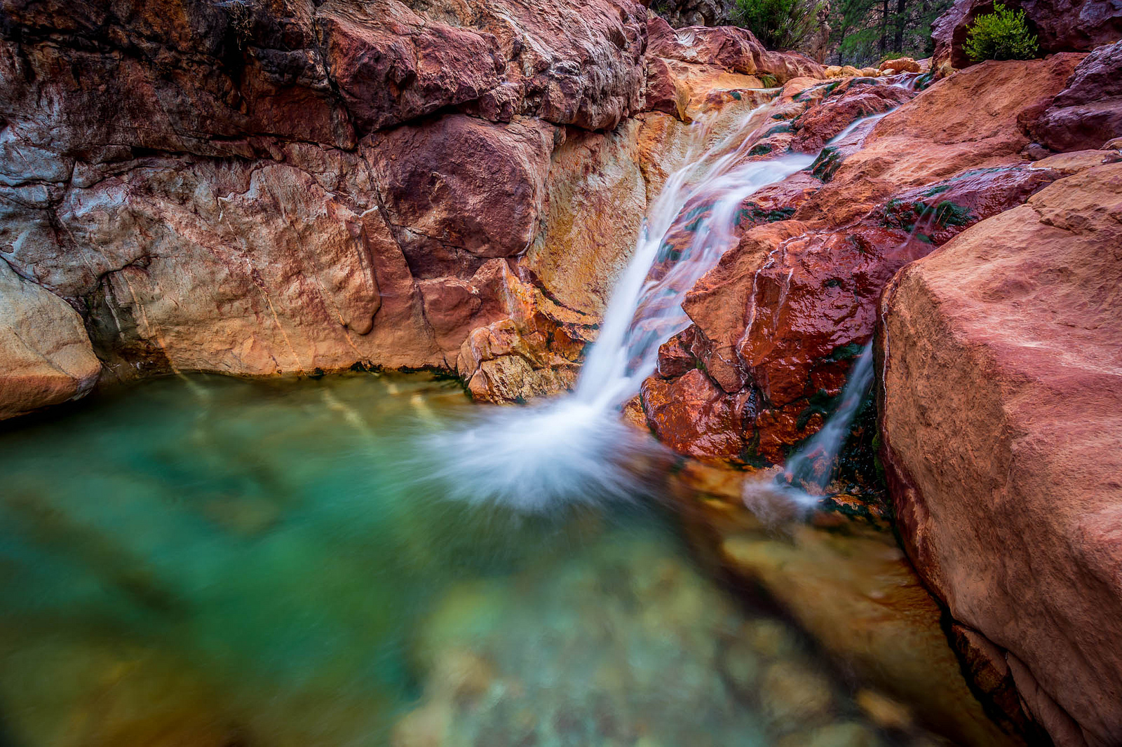 Little Backbone Creek The Natural Water Slide Northern California Shasta Lake