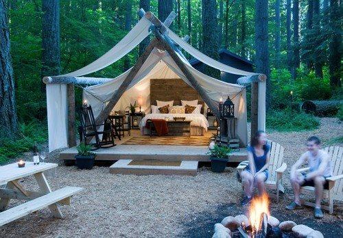 Pampered Wilderness Glampground In Washington Will Take