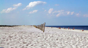 The Beautiful Beach With The Whitest, Most Pristine Sand In Maryland