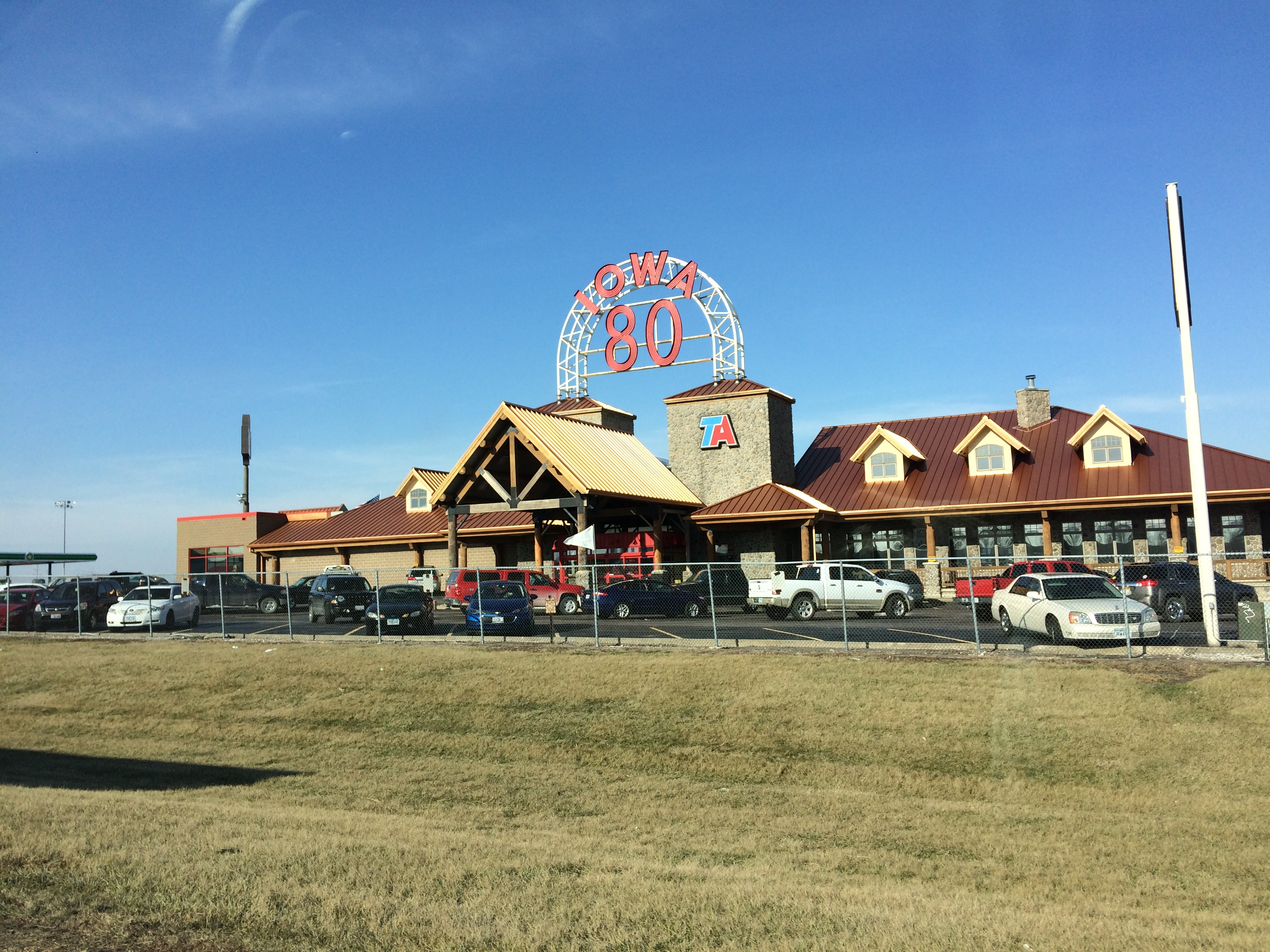 The World S Largest Truckstop Is Right Here In Iowa And