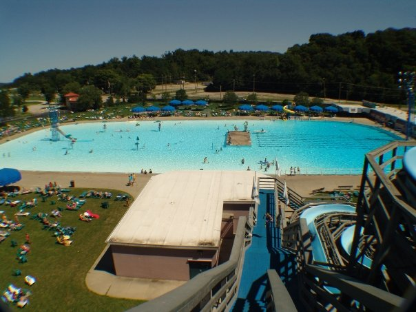 The world s largest recirculating pool in ohio sunlite pool - Longest swimming pool in the world ...