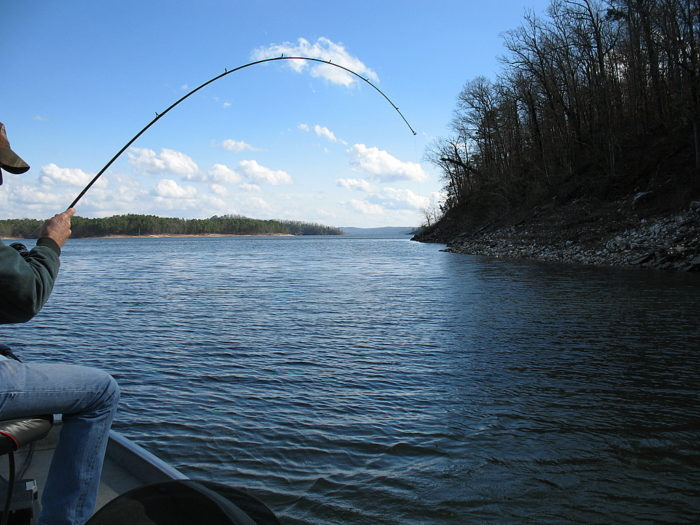 There 39 s nothing better than a day trip to oklahoma 39 s most for Broken bow lake fishing