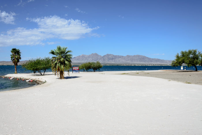 In 2017 Lake Havasu State Park And Cattail Cove Received A Generous Helping Of White Sand An Effort To Improve The Parks Earances Invite More