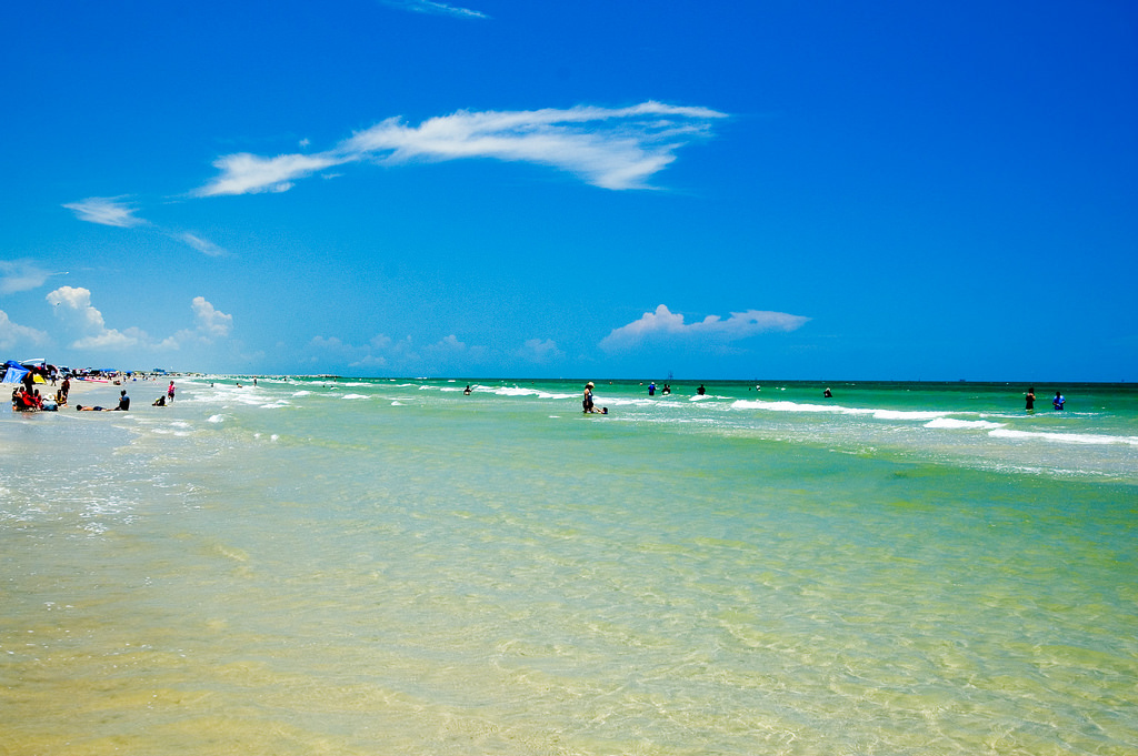 Mustang Island Has The Most Pristine Sand In Texas