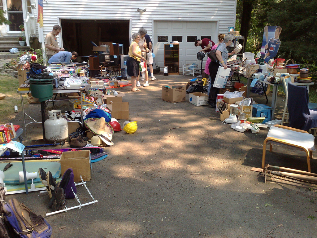 You'll Absolutely Love This 100 Mile Yard Sale Going Right