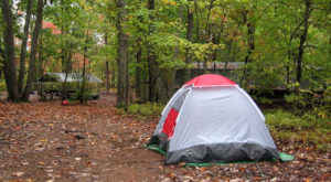 You'll Want To Stay Far Away From This One North Carolina Camping Area This Spring