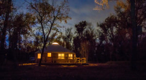 The Secluded Glampground In North Dakota That Will Take You A Million Miles Away From It All