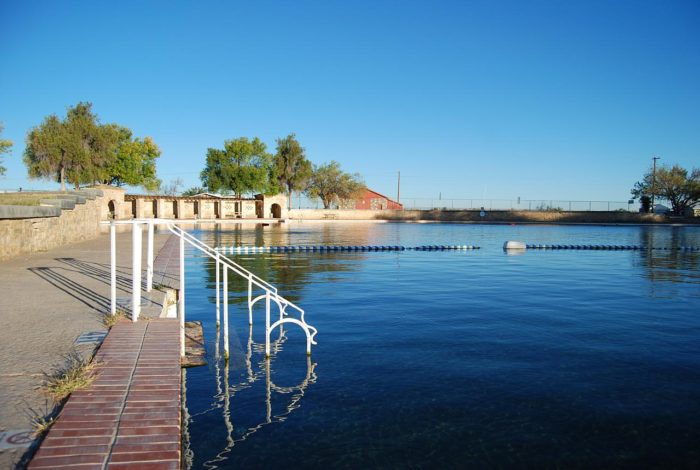 The Sapphire Pool At Balmorhea State Park Is A Must Visit