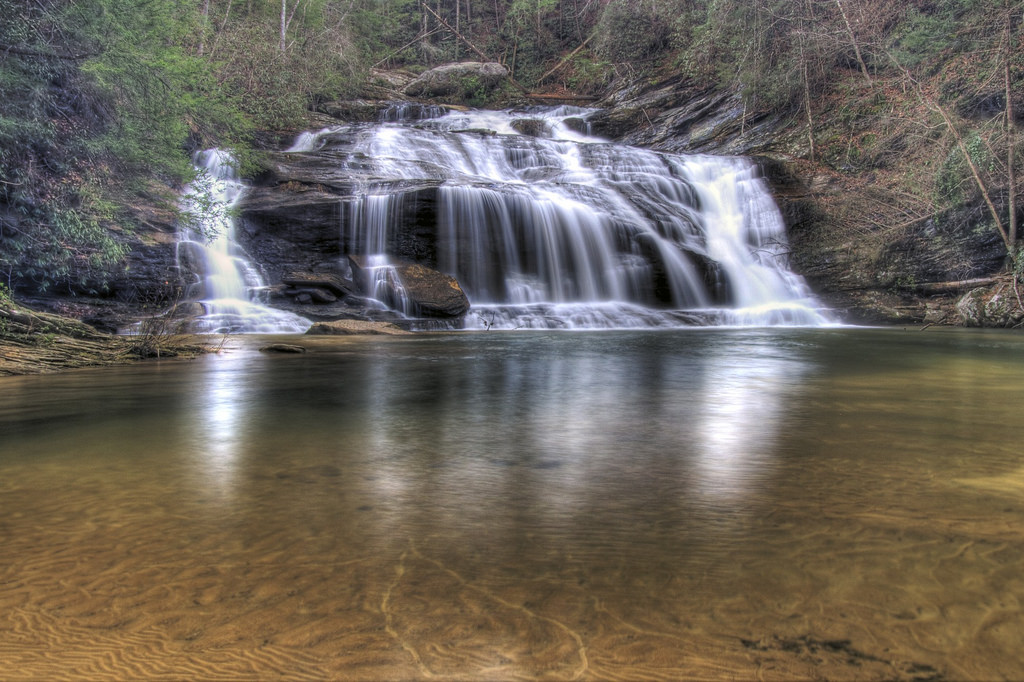 A Hike To This Georgia Waterfall Swimming Hole Is